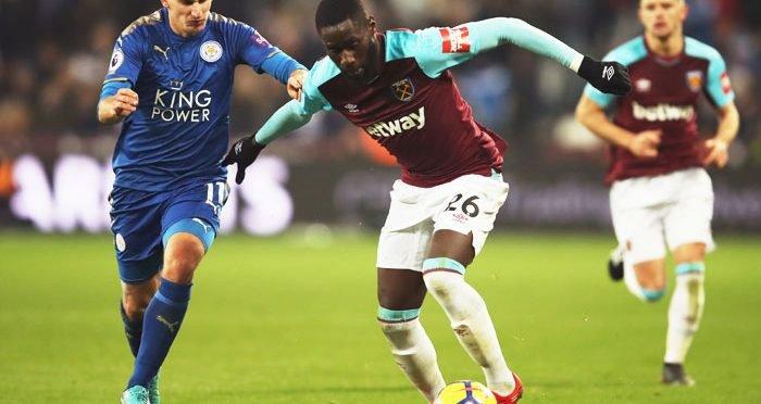 West Ham United wing-back Arthur Masuaku