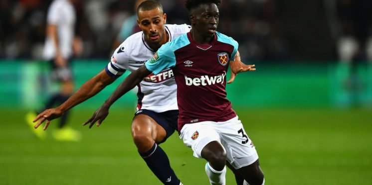West Ham United midfielder Domingos Quina