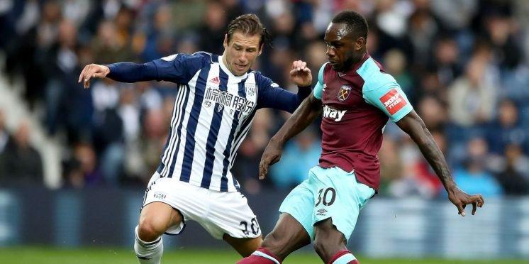 West Ham United winger Michail Antonio