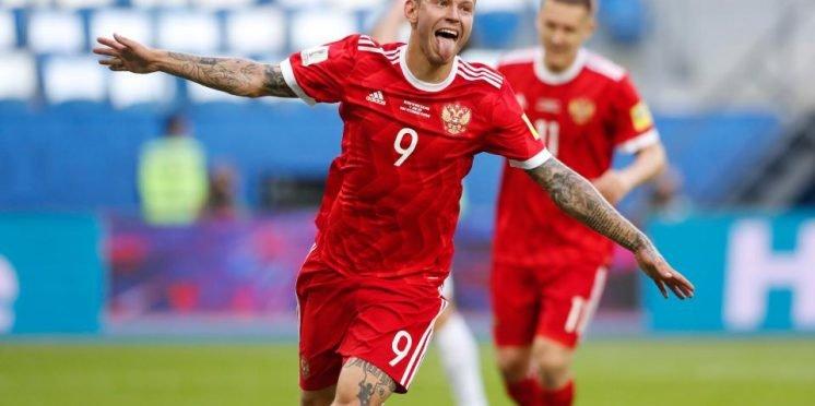 Krasnodar and Russia striker Fedor Smolov