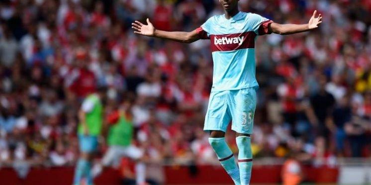 West Ham United defender Reece Oxford