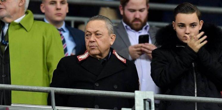 West Ham United co-owner David Sullivan
