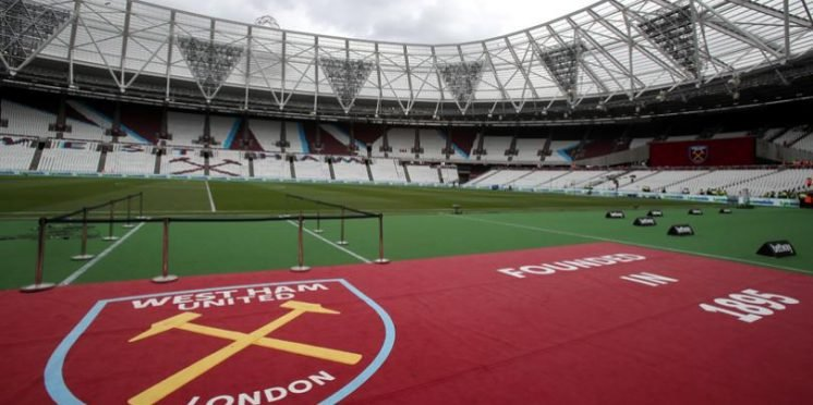 West Ham United's home ground, the London Stadium