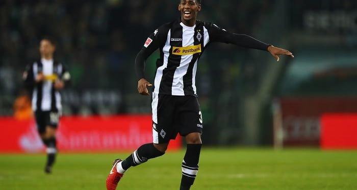 Borussia Monchengladbach defender Reece Oxford