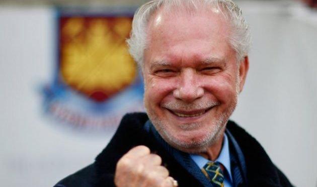 West Ham United co-owner David Gold