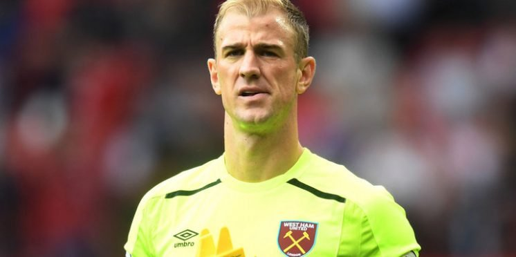 West Ham United goalkeeper Joe Hart