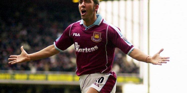 Former West Ham striker Paolo Di Canio