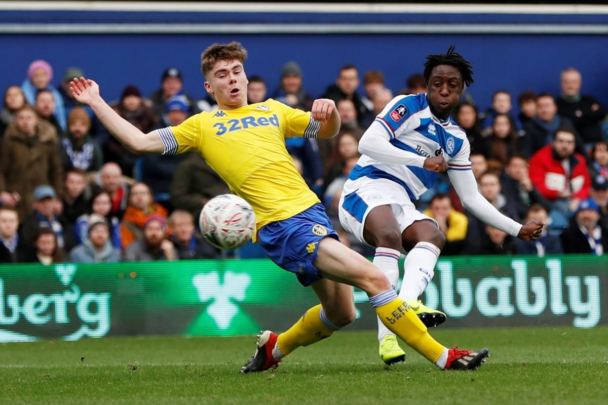 Player reacts as his Leeds United exit confirmed