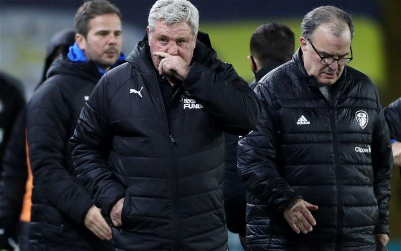 Image for Steve Bruce makes big Marcelo Bielsa claim as Leeds United face Newcastle United