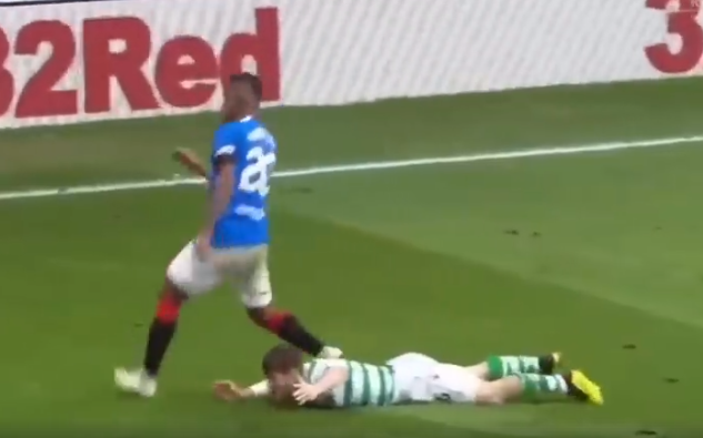 Image for Disgraceful video of 3 professional fouls by Morelos