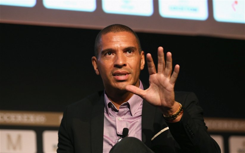 Image for Stan Collymore joins the laughs at Sevco's Castore nightmare.