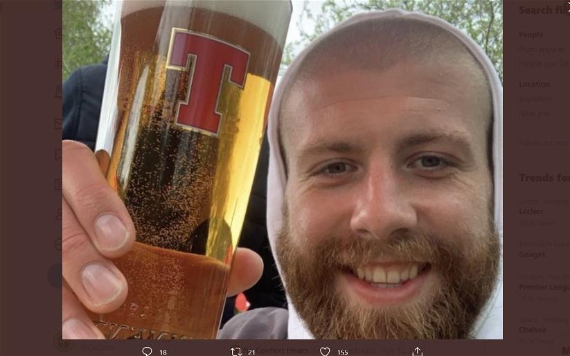 "Image for Celtic daft Shaun Rooney's ""shove yer royal wedding up yer arse"" post goes viral"