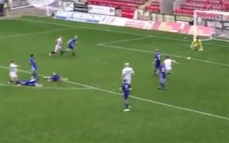 Image for Video: Forgotten Celt Luca Connell scores belter for Queens Park