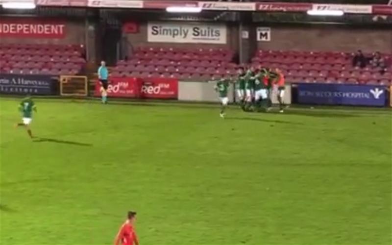 Image for Video: Celtic starlets belter for Eire.