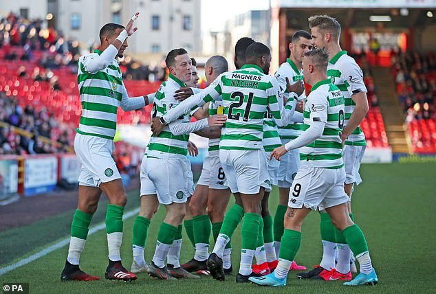 It was a very hard game at Pittodrie and Aberdeen gave Celtic a good match, but the weather didn't help much as high winds pretty much curse the game.