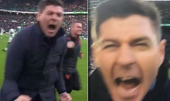Steven Gerrard has got his back up at media stating that maybe the Englishman's celebrations after winning the last Glasgow Derby has spurred Celtic on after the Winter break.