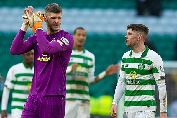 Celtic midfielder Ryan Christie will return to the squad for the club's Scottish Cup match on Sunday.