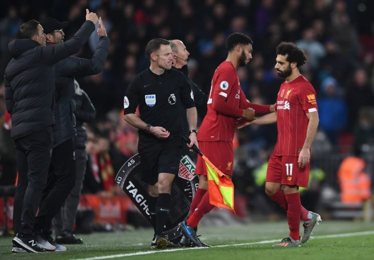 Klopp relaxed over Salah fitness ahead of Napoli Champions League clash