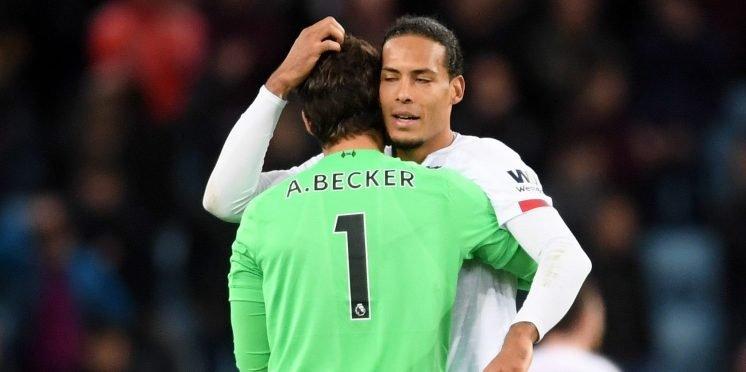 signiert Techland13 Liverpool FC 2019 Salah Firmino Mane Virgil van Dijk Alisson Becker A4