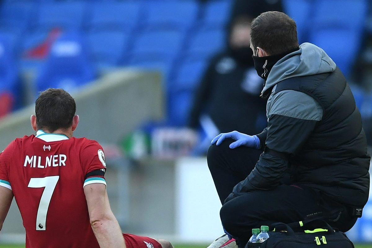 James Milner ruled out of Liverpool's Champions League clash with Ajax - Read Liverpool