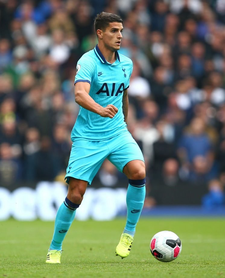 Parrott on the bench for Spurs' clash with Everton