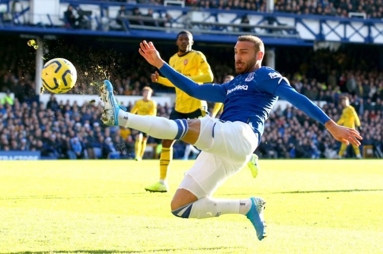 Everton striker Cenk Tosun to join Crystal Palace on loan