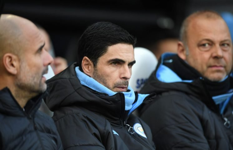 Mikel Arteta to travel with Man City despite holding Arsenal talks