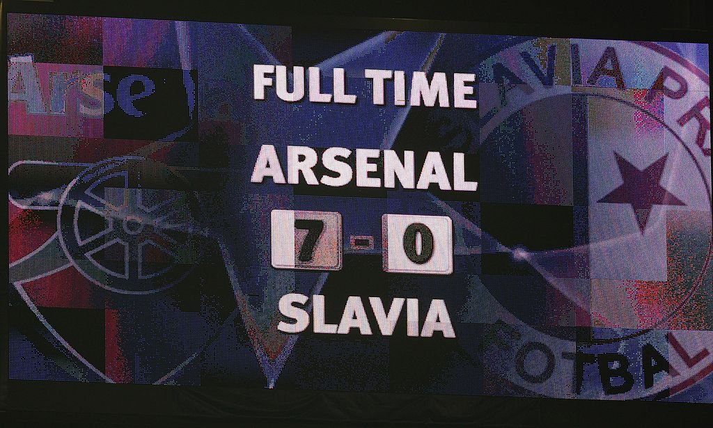 Slavia arsenal