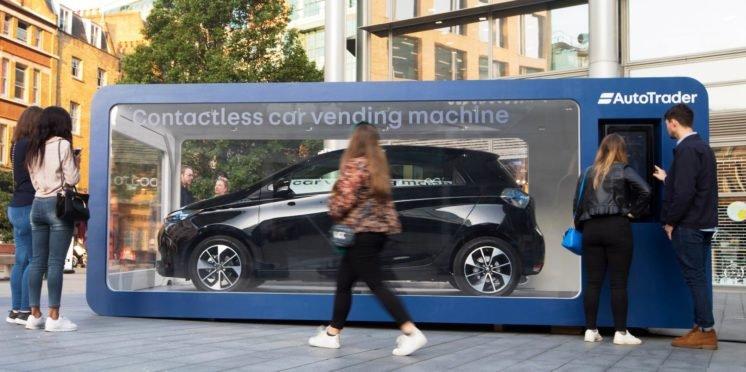 Auto Trader car vending machine, London