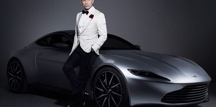 Aston Martin DB10 with Daniel Craig