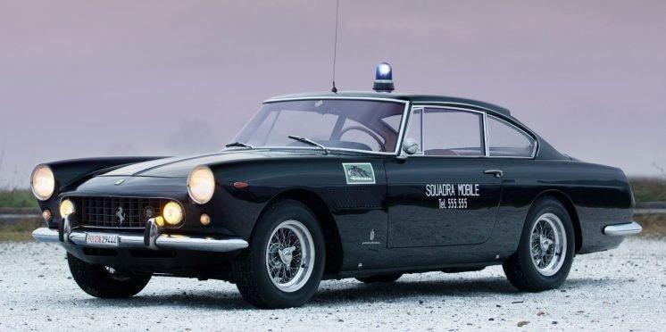 1962 Ferrari 250 GTE Polizia by Tom Gidden for Girardo and Co