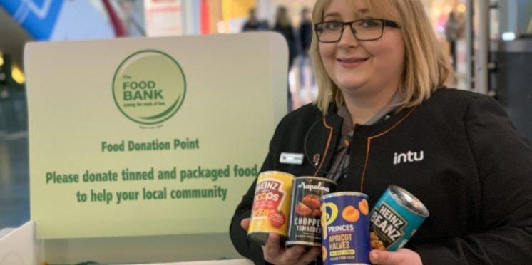 Intu Milton Keynes Launches Festive Food Drop Campaign For