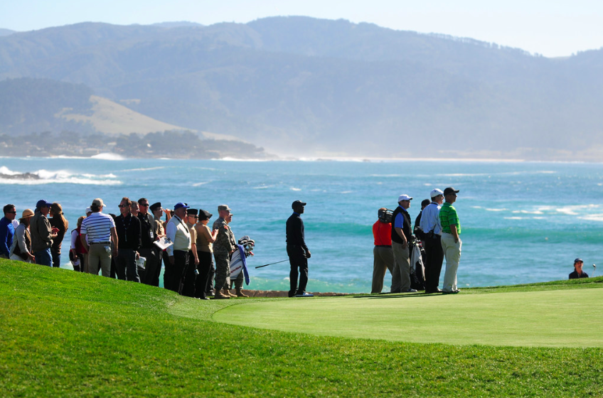 """Military Day at AT&T Pebble Beach Pro-Am"" (Public Domain) by Presidio of Monterey: DLIFLC & USAG"