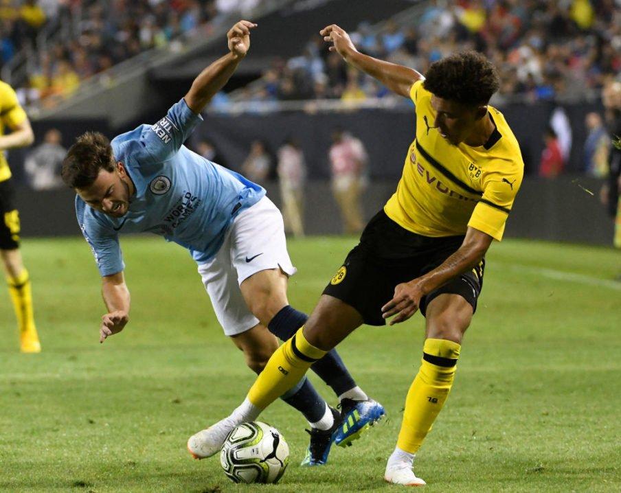 Juventus Eye Dortmund Star Sancho And City Man Foden